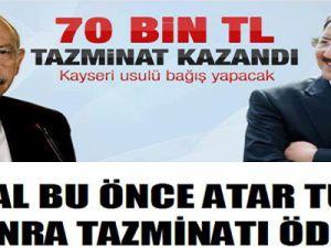 ÖZHASEKİ, KILIÇDAROĞLU'NA AÇTIĞI TAZMİNAT DAVALARINI KAZANDI