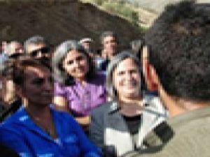 BDP ile kucaklaşan PKK'lıların korumaları öldürüldü