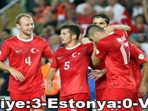 Türkiye:3-Estonya:0-Video