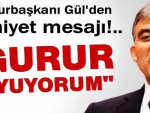 Cumhurbaşkanı Abdullah Gül: Türk Polisi İle Gurur Duyuyorum