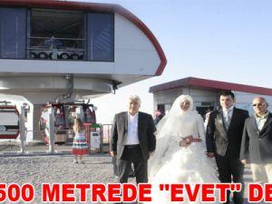 """2 BİN 500 METREDE """"EVET"""" DEDİLER"""