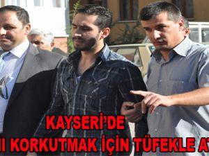 KAYSERİ'DE ÇILGIN EVLADA ÖZEL HAREKAT MÜDAHALE ETTİ