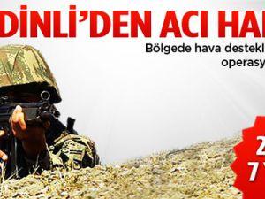 Şemdinli'de çatışma: 2 şehit, 7 yaralı