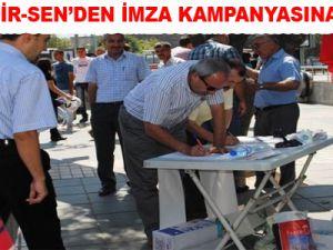 EĞİTİM-BİR-SEN'DEN İMZA KAMPANYASINA DESTEK