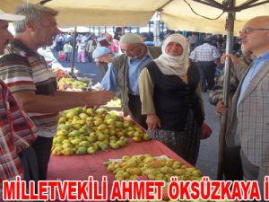 AK PARTİ KAYSERİ MİLLETVEKİLİ AHMET ÖKSÜZKAYA İNCESU'DA