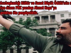 """""""Rakıya Medhiye"""" Düzen Ahmet Kaya'ya Ödül"""