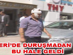 KAYSERİ'DE DURUŞMADAN ÇIKTI BU HALE GELDİ