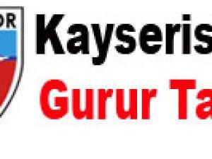 Kayserispor'un gurur tablosu