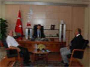 ANADOLU OTO GALERİCİLER SİTESİ BAŞKANI VALİ YILMAZ'I ZİYARET ETTİ
