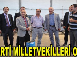 AK PARTİ MİLLETVEKİLLERİ OSB'DE