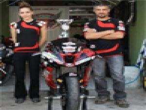 MOTODRAG ŞAMPİYONASINDA KAYSERİ'NİN GURURU OLDULAR