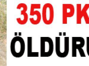 Şemdinli'de 350 terörist öldürüldü