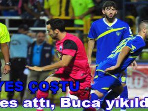 Erciyes attı, Buca yıkıldı: 0-1