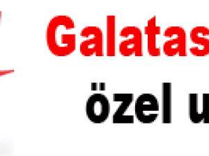 Galatasaray'a özel uçak