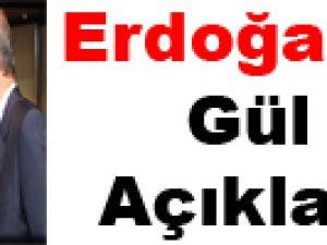 Erdoğan'dan 'Gül' açıklaması