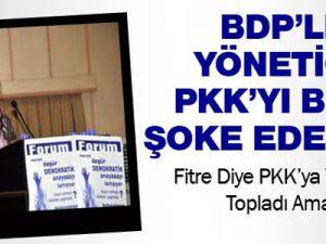 BDP'li yönetici fitre için topladığı parayla estetik yaptırdı