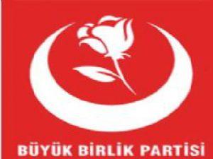 Büyük Birlik Partisinden Teröre Karşı Birlik Mitingi