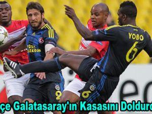 Fenerbahçe Galatasaray'ın Kasasını Doldurdu ! Video