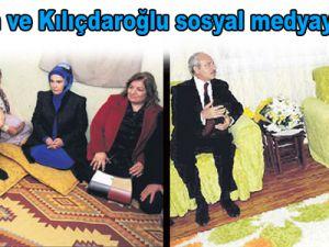 Erdoğan ve Kılıçdaroğlu sosyal medyayı salladı