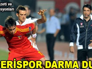 KAYSERİSPOR DARMA DUMAN / VİDEO