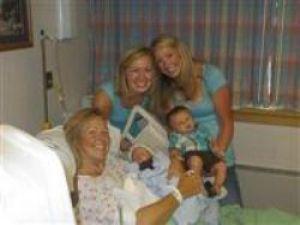 Kızının oğlunu doğurdu!
