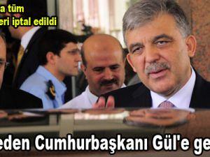 Hastaneden Cumhurbaşkanı Gül'e geçici izin