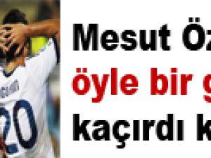 Mesut Özil öyle bir gol kaçırdı ki / Video