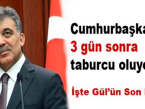 Cumhurbaşkanı Gül 3 gün sonra taburcu oluyor