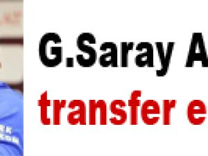 G.Saray Alex'i transfer eder mi?