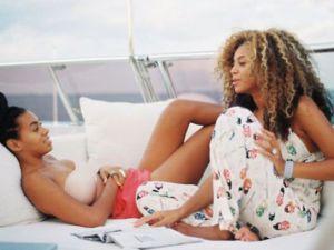 Beyonce'dan Çok Özel Kareler