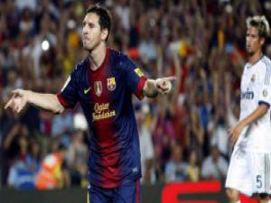 El Clasico'da Barca bir adım önde: 3-2 / Video