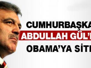 Gül'den Obama'ya sitem