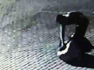 İşte zavallı kadının son görüntüleri / VİDEO