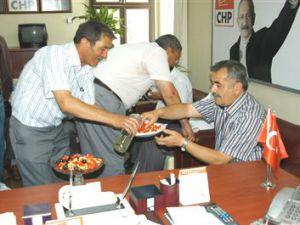 CHP İl Başkanlığında Bayramlaşma Düzenlendi
