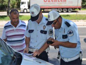 BAYRAMIN SON GÜNÜ TRAFİK POLİSLERİNDEN RADAR UYGULAMASI