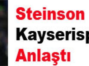 Steinson Kayserispor'la Anlaştı