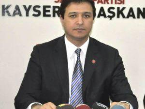 Kayseri Saadet Partisi İl Başkanı Mahmut Arıkan Bayram Mesajı