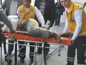 Kayseri Şeker Fabrikası'nda Bıçaklar  Konuştu Sıra Kavgası: 1 Yaralı