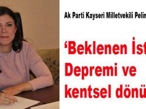 'Beklenen İstanbul Depremi ve kentsel dönüşüm'