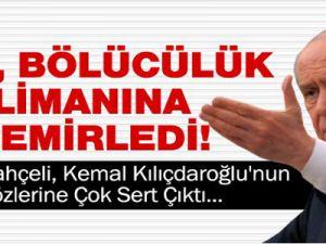 Bahçeli'den Kılıçdaroğlu'na Sert Cevap