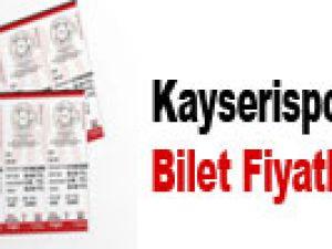 Kayserispor-Bursaspor Bilet Fiyatları