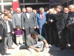 Büyükşehir Belediye Başkan Adayı Özsoy Baba Ocağı Bünyan'da