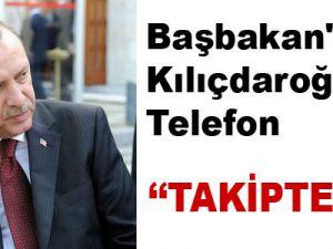 Başbakan'dan Kılıçdaroğlu'na Telefon