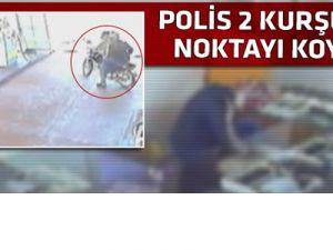 Hırsızlık yapan iki kişiyi polis vurdu-video
