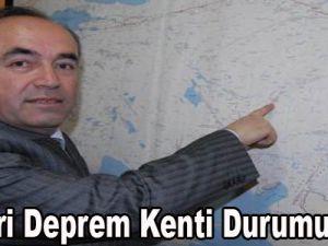 Kayseri Deprem Kenti Durumundadır
