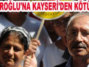KILIÇDAROĞLU'NA KAYSERİ'DEN KÖTÜ HABER