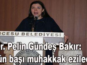 Prof. Dr. Pelin Gündeş Bakır: 'Terörün başı muhakkak ezilecektir.'
