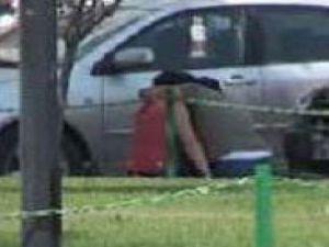 Sevgililer tekme tokat kavga etti-video