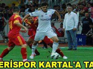 KAYSERİSPOR KARTAL'A TAKILDI / VİDEO