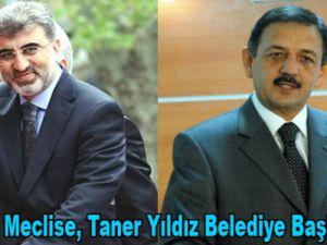 Özhaseki Meclise, Taner Yıldız Belediye Başkanlığına
